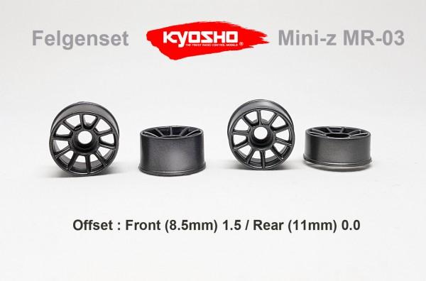 Felgenset Mini-z MR-03 / Kyosho | gun | x24FS09