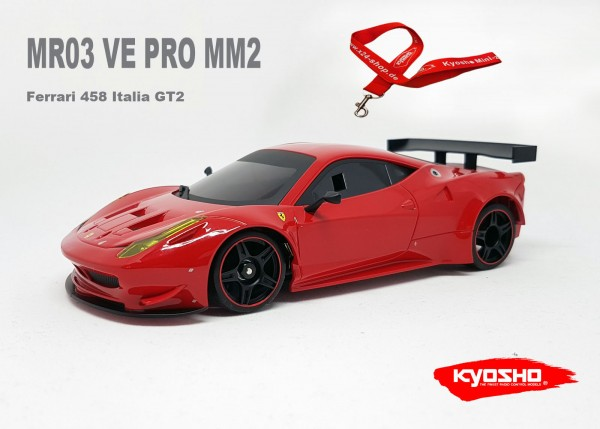 Mini-Z MR-03VE PRO MM2 Ferrari 458 Italia GT2
