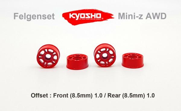 Felgenset Mini-z MR-03 0 10 Spoke rot,brush
