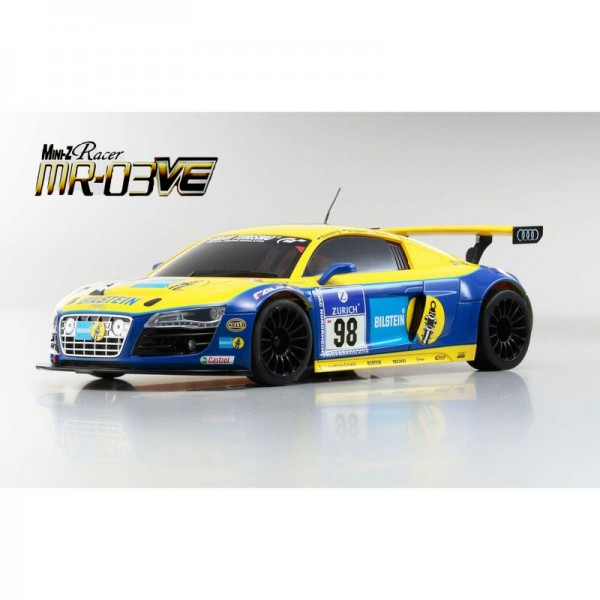 Kyosho 32741-419bt Mini-Z MR-03VE BCS Audi R8 LMS Phoenix Racing (MR03W-MM)