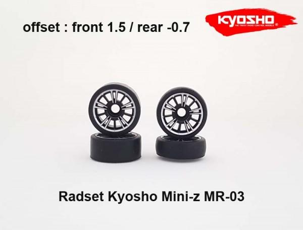 Mini-z / Felgen / Reifen / Kyosho Mini-z MR-03