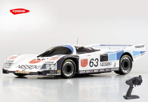 Kyosho | Mini-z MR03 RWD | Porsche 962C Coupe LH No.63 | KT531P | K.RWD322NT