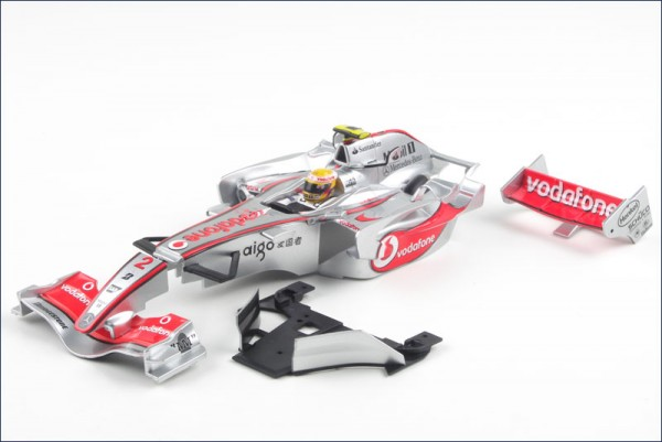 Karosserie Mini-z F1 McLaren Mercedes MP4-22 MBF40