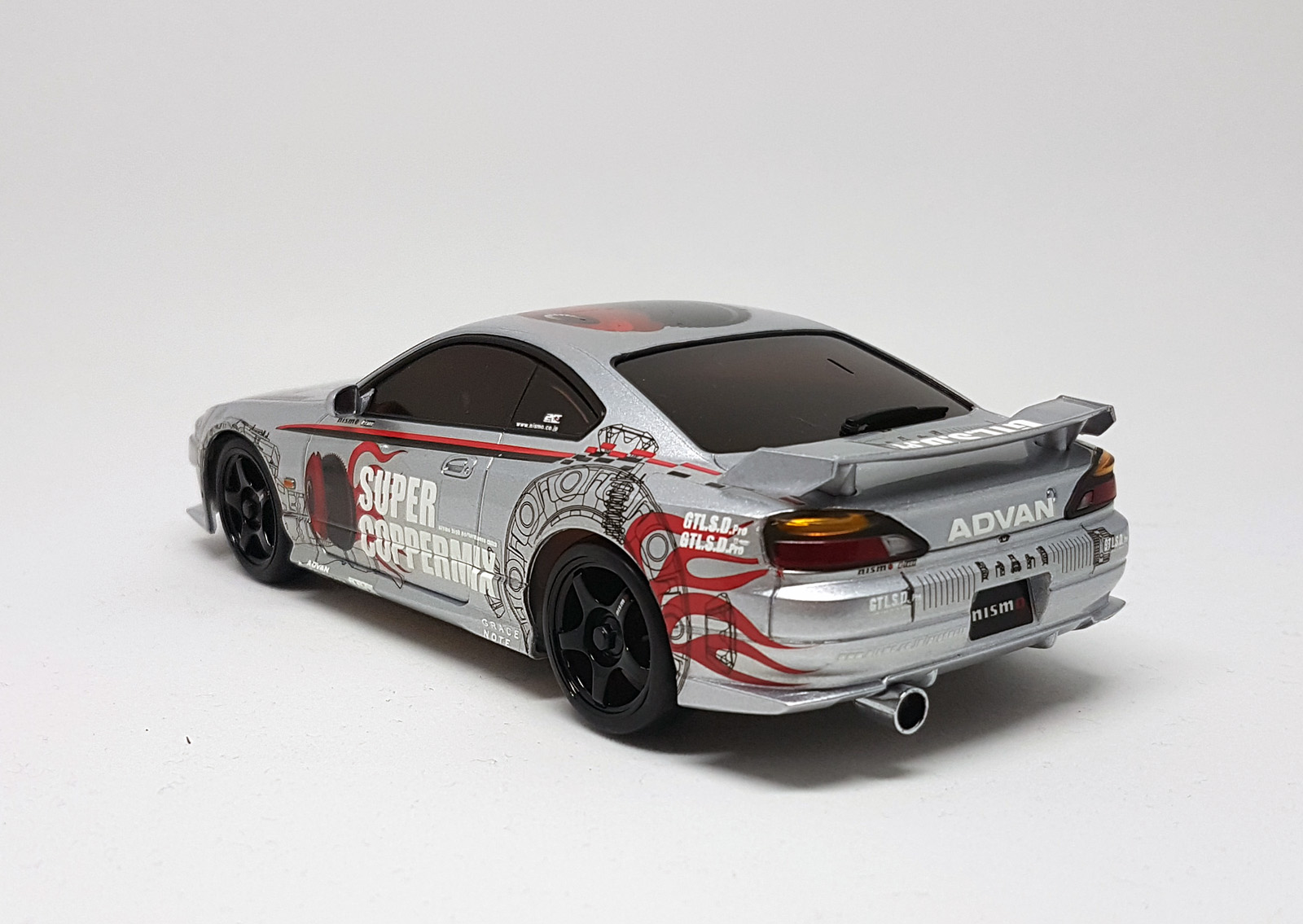 karosserie mini z mr 03 nismo silvia miniz kyosho. Black Bedroom Furniture Sets. Home Design Ideas