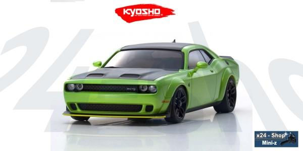 Kyosho | Karosserie Mini-z AWD | Dodge Challenger SRT Hellcat Redeye - sublime | MZP451MG