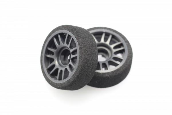 Felge+ Reifen Mini-z MR-03 front (8,5 mm) Moosgummi