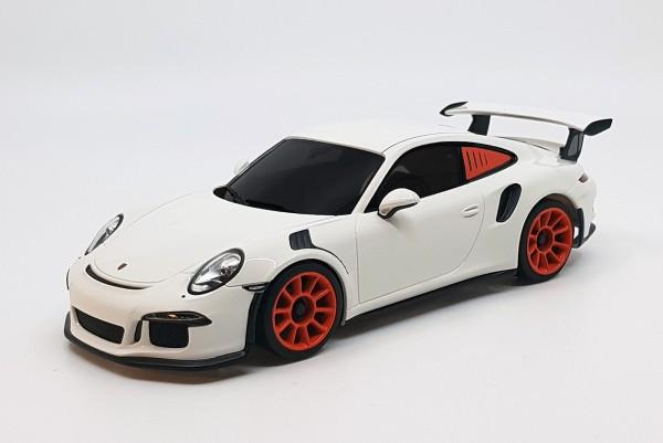 Mini-z MR-03VE BCS Porsche 911 GT3 RS white-orange