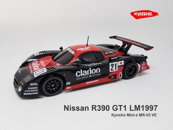 Mini-Z MR-03VE / Kyosho / Nissan R390 GT1