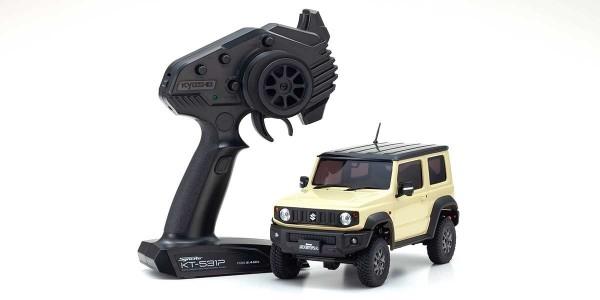 kyosho |Mini-Z Crawler | MX-01 Suzuki Jimny Sierra Chiffon Ivory| K.32523IV