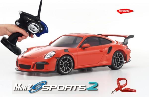 Mini-z / Kyosho MR-03 Sports 2 / PORSCHE 911 GT3 RS orange / K.32231OR / RWD