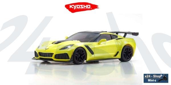 Karosserie Mini-z Chevrolet Corvette ZR1 Racing Yellow | MZP240Y