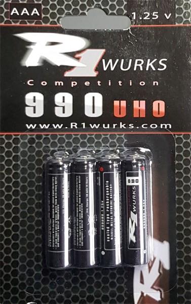 R1 WURKS Hochleistungs-Akku / R1990 / Mini-z