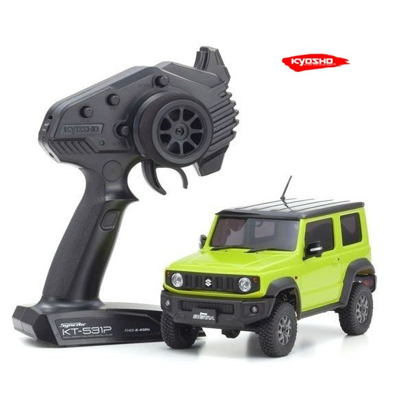 Mini-Z 4X4 MX-01 Suzuki Jimny Sierra Kinetic Yellow (KT531P)