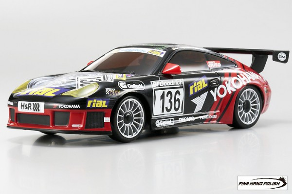 Karosserie Mini-z MR-03 Porsche 911 GT3 RSR 2005 no.136