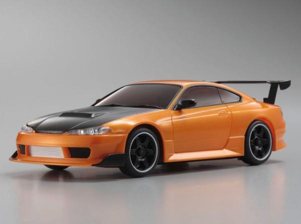 Karosserie Mini-z / AWD / Nissan Sivia S15 orange /K.MZP413MO