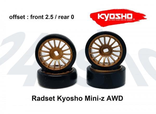 Radset Mini-z AWD 2.5 gold