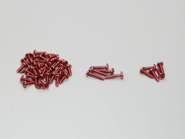 Schraubensatz rot für Mini-z Monster mmf01r