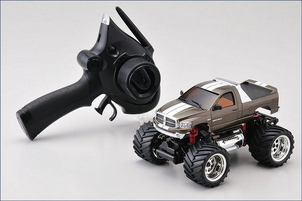 Mini-z Monster MM-01 Dodge Ram 1500 grau K.30091GM