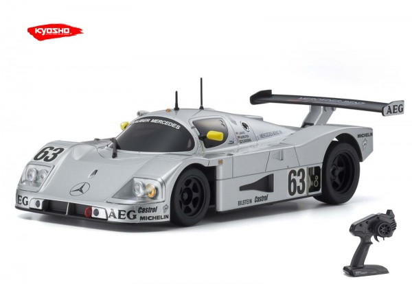 Kyosho / Mini-z RWD / SAUBER MERCEDES C9 No.63 LM 1989 / KT531P / K.32323AS