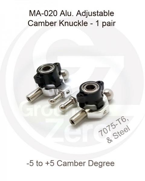 Aluminium Knuckle -5 to +5 Degree for Mini-z AWD MA-020 (1 Paar) gzma020-04