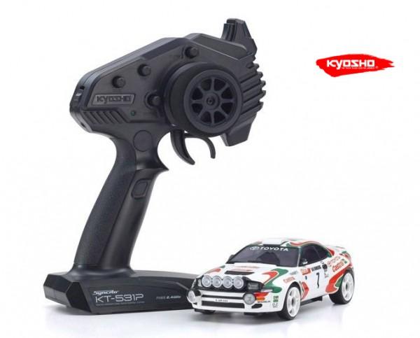 Miniz AWD MA020 Sports | Allrad Kyosho | K.32615JK | Toyota Celica Turbo 4WD No.7 WRC 1993 | KT531P