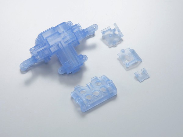 Servogehäuse blau-transparent für Mini-z Monster mmf03cb