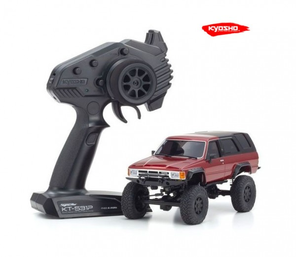 kyosho |Mini-Z Crawler | MX-01 Toyota 4Runner Metallic Red | K.32522MR