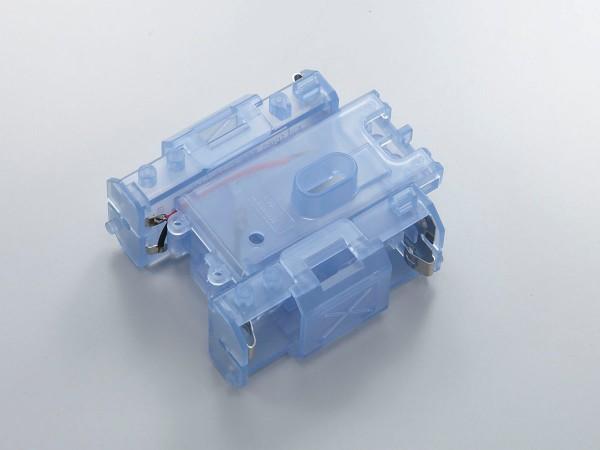 Chassis blau-transparent für Mini-z Monster mmf02cb