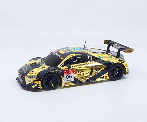 Karosserie Mini-z MR03 R8 LMS-05 Black-Gold Electroplating GL-Racing