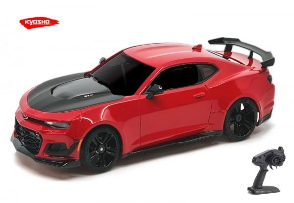 Kyosho / Mini-z RWD / Chevrolet Camaro ZL1 1LE Red Hot (W-MM/KT531P) m/LED) / K.32339R   MR03