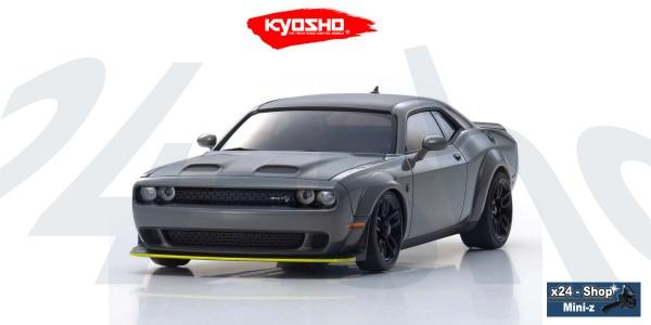 Kyosho | Karosserie Mini-z AWD | Dodge Challenger SRT Hellcat Redeye - destroyer gray | MZP451G