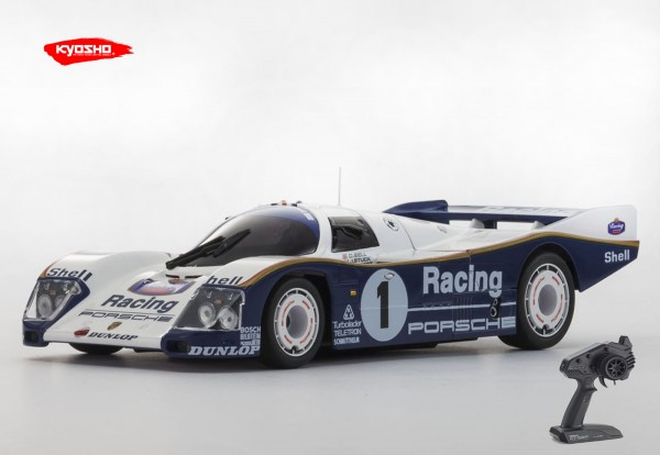 Kyosho | Mini-z MR03 RWD | Porsche 962C Coupe LH No.1 | KT531P | K.RWD322PR |MR03