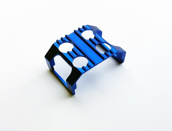 Batterieclip mit Kühlfunktion Mini-z AWD, Alu blau  tc10904b