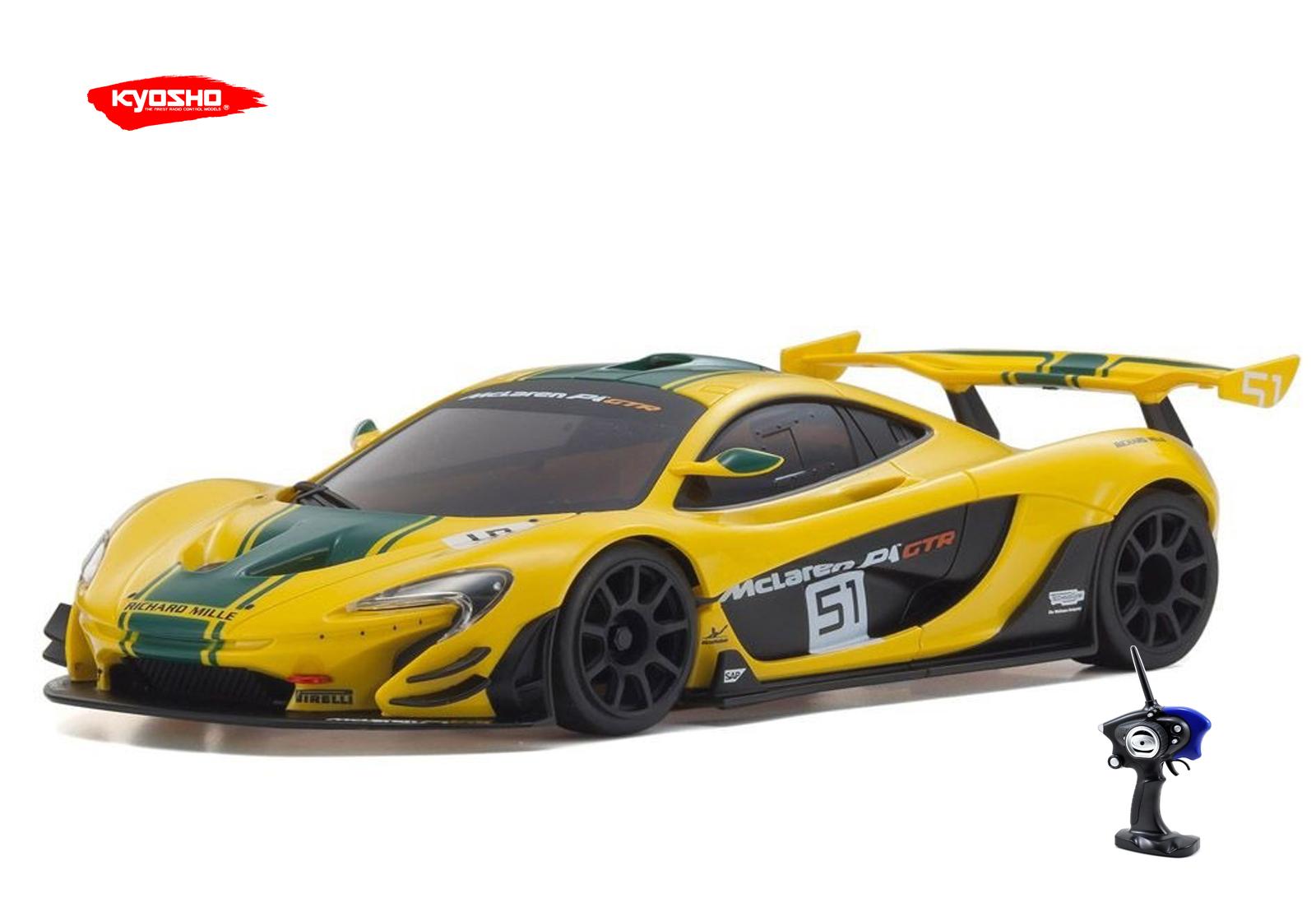 mini-z mr-03 sports 2 amclaren p1 gtr yellow# green   k.32204g235yg