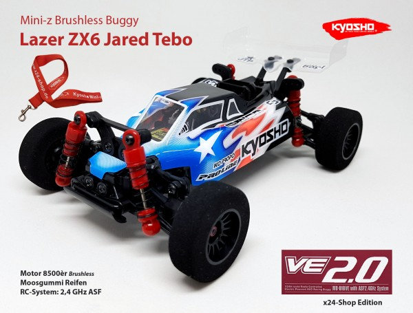 Mini-z Brushless Buggy#VE / Kyosho MB-010VE / K.32291 / Brushless / Lazer ZX6 Jared Tebo