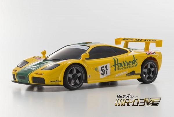 Mini-z MR-03VE BCS McLaren F1 GTR No.51 LM 1995