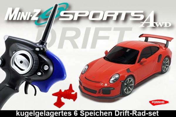 MINI-Z AWD MA020 Sports 4WD Porsche 911 GT3 Drift orange