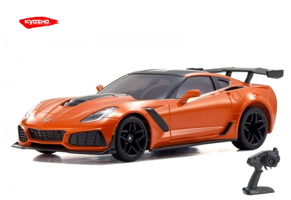 Kyosho / Mini-z RWD / Chevrolet Corvette ZR1 Sebring Orange | KT531P / K.32334OR | MR03