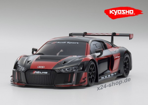 Karosserie Mini-Z AUDI Sport R8 LMS 2015 black-red (W-MM)