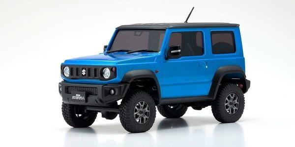 Mini-Z 4X4 MX-01 Suzuki Jimny Sierra Brisk Blue ohne Fernsteuerung