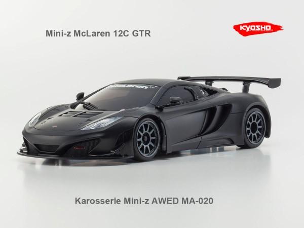 Karosserie Mini-z AWD | McLaren 12C GT3 | K.MZP226BK-awd