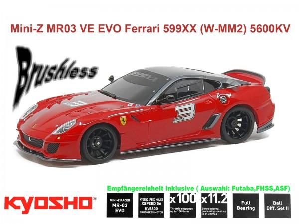 kyosho |Mini-Z MR03 EVO Ferrari 599xx | K.32791