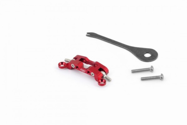 Alu-alloy Upper Arm Holder (for AWD-DWS/Red) mau107r