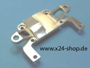 hintere Getriebeabdeckung Alu Silber Mini-z AWD