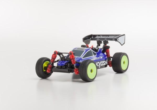 Karosserie Mini-z Buggy Inferno MP9 TKI3 blau/schwarz mbb03bb