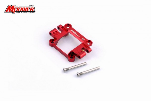 Front Upper Cover wide red mpower MAP003WR