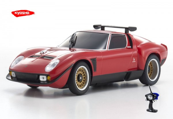 Mini-Z MR-03 Sports 2/ Lamborghini Jota SVR Red (N/RM) / Kyosho / K.33342R / RWD