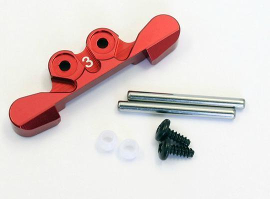 Aufhängung hinten, rot Mini-z Buggy mbw025r-3