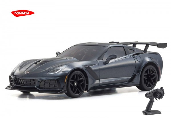 Kyosho / Mini-z RWD / Chevrolet Corvette ZR1 Shadow Grey | KT531P / K.32334GM | MR03
