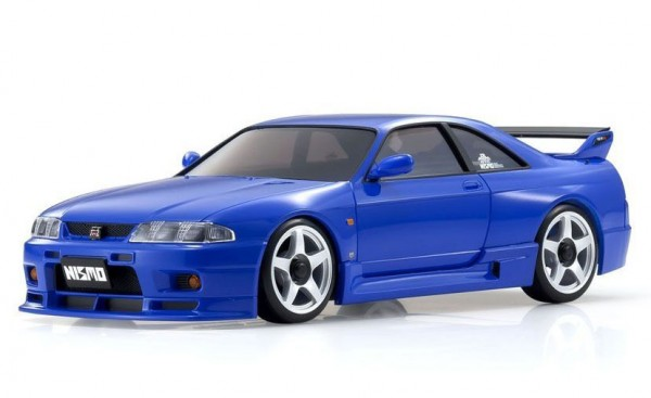 Karosserie Mini-Z Nissan GT-R Nismo R33 Blau (MA020N-L)| K.MZP447BL | Kyosho